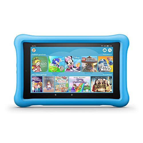 Fire HD 8 Kids Edition-Tablet, 8-Zoll-HD-Display, 32 GB, blaue...