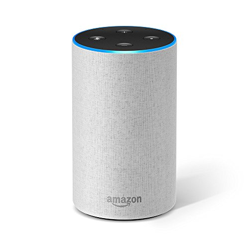 Amazon Echo (2. Gen.), Intelligenter Lautsprecher mit Alexa, Sandstein...