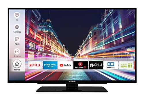 Techwood F39T52C 98 cm (39 Zoll) Fernseher (Full HD, Triple-Tuner,...