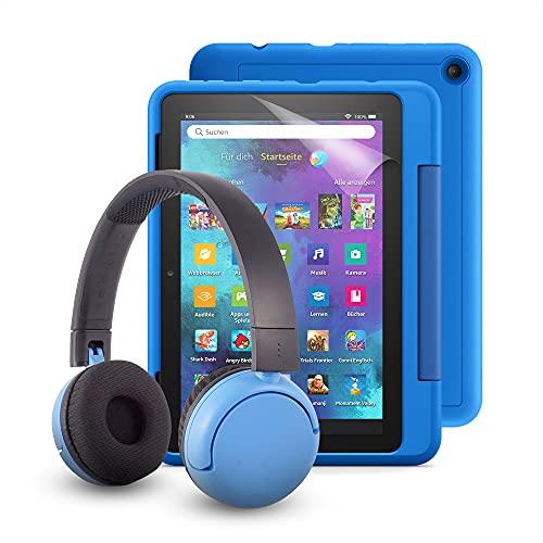 Fire HD 8 Kids Pro-Tablet (kindgerechte Hülle in Himmelblau) +...