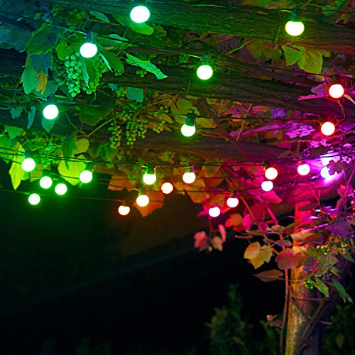 """Lights4fun Twinkly 20er LED Party Lichterkette """"Bunte Edition"""" RGB..."""