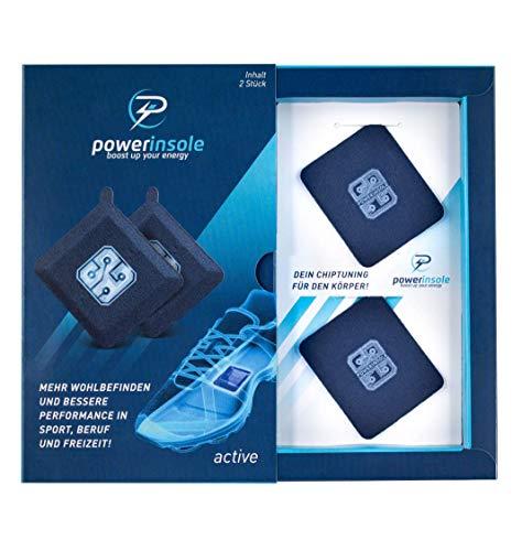 Powerinsole Smarte Einlegesohlen, High Tech Powerchip für Sport und...