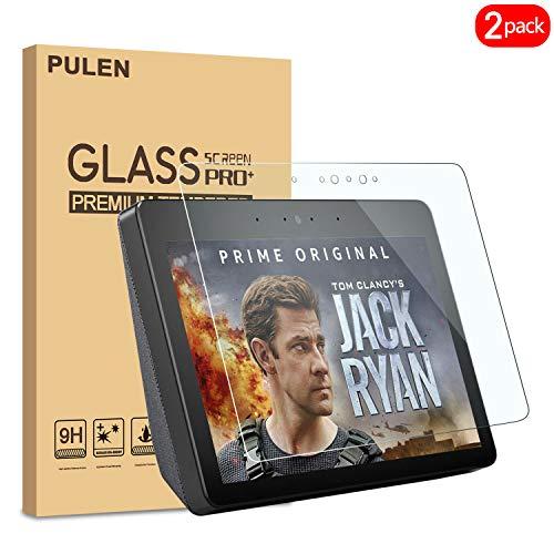PULEN [2 Pack] Amazon Echo Show (2. Gen.) Panzerglas Schutzfolie, 9H...