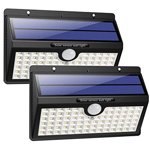 Solarleuchte für Außen, [2 Stück] HETP 78 LED Solarlampe Außen...