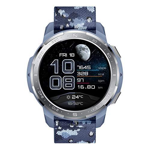 HONOR Watch GS Pro - GPS-Multisport-Smartwatch mit Robustes Gehäuse,...