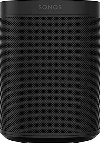 Sonos One Smart Speaker, schwarz – Intelligenter WLAN Lautsprecher...
