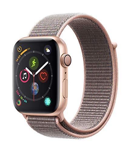 Apple Watch Series 4 (GPS, 44mm) Aluminiumgehäuse Gold - Sport Loop...