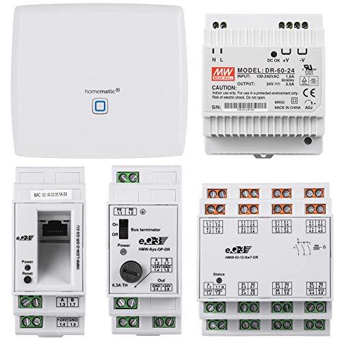 Homematic Wired RS485 Smart Home Starter Paket zum Aufbau Einer...