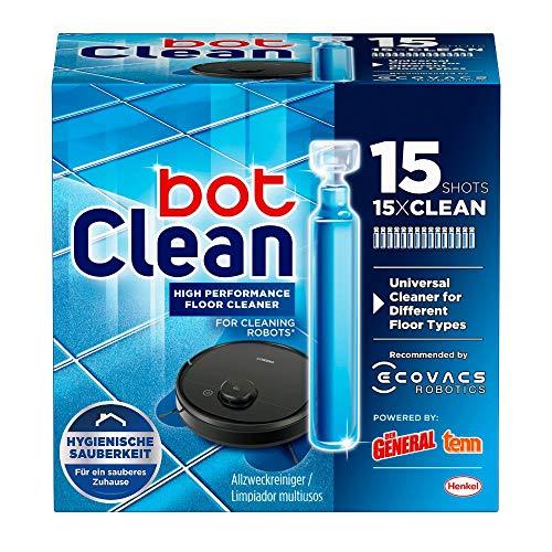BotClean Bodenreiniger-Flüssigkeit 15 x 18 ml für Saugroboter mit...