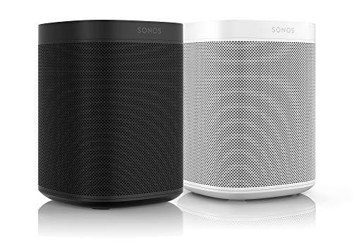 Sonos One Smart Speaker 2-Raum Set, weiß / schwarz – Intelligente...