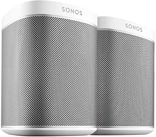 Sonos Play:1 Smart Speaker (Doppelpack Starterset, Kompakter und...