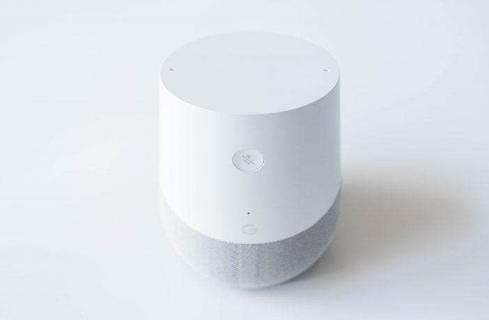 Google Home hinten