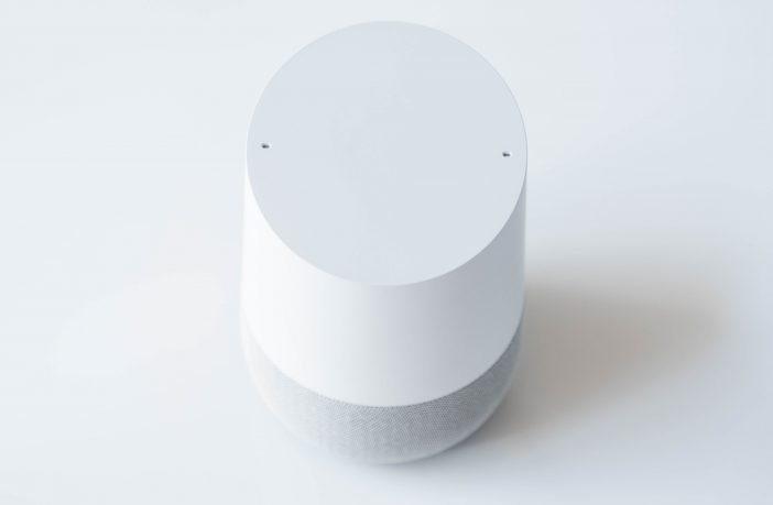 Google Home vorne