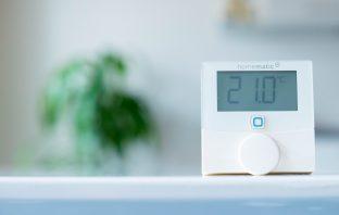 Homematic IP Wandthermostat und Luftfeuchtigkeitssensor