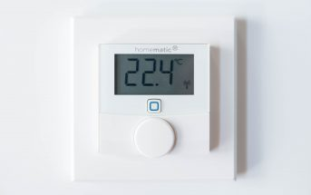 Homematic IP Wandthermostat vorne