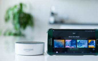 Musikdienste für Amazon Alexa