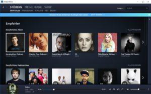 Musikdienste für Amazon Alexa Prime