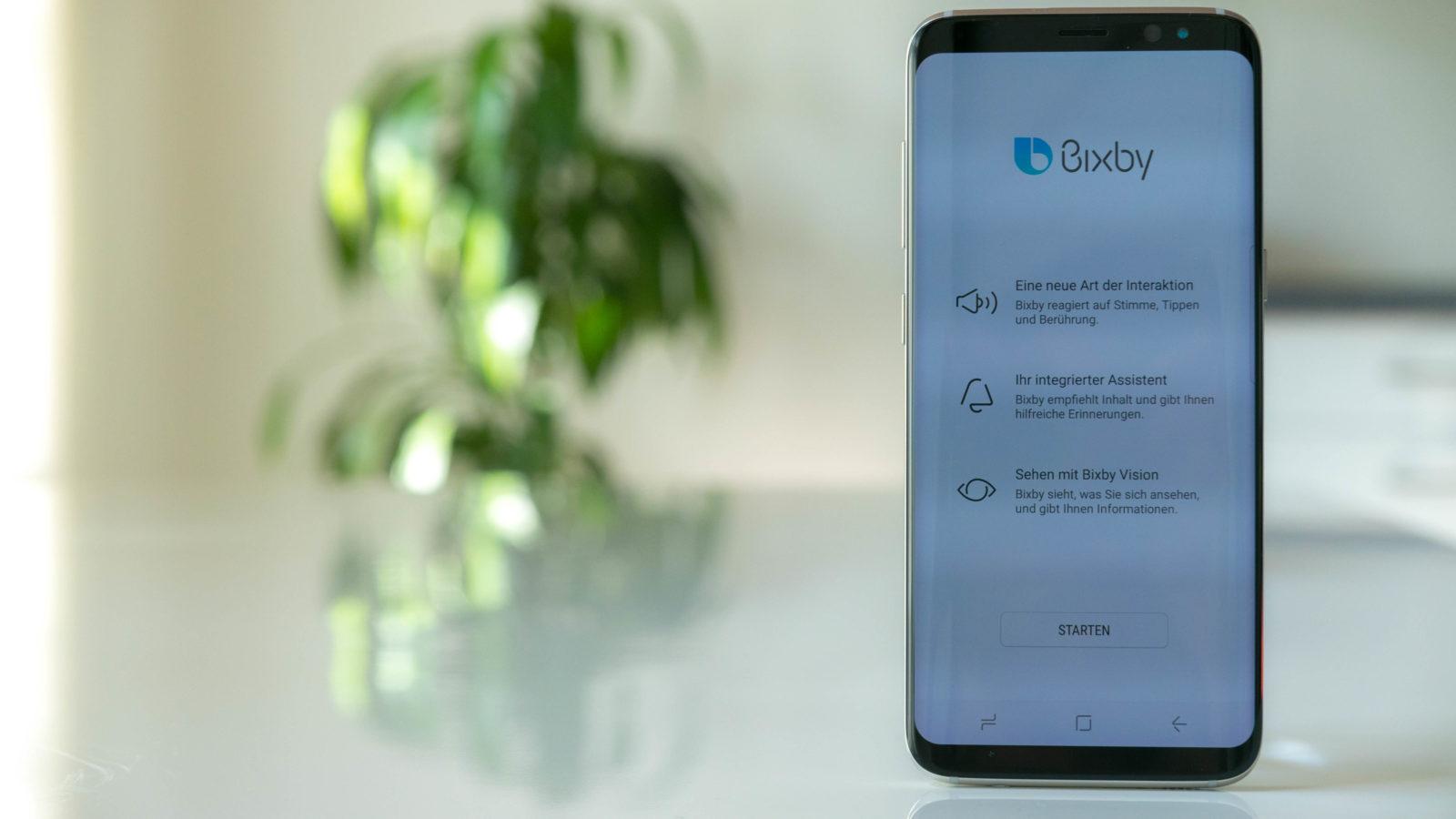 Bixby auf deutsch s9