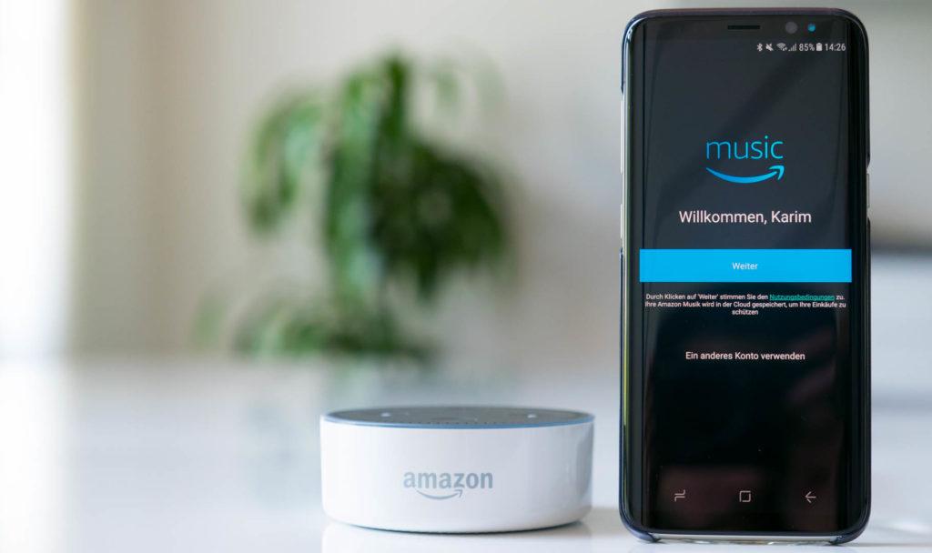 Amazon Music mit neuen Funktionen für Alexa