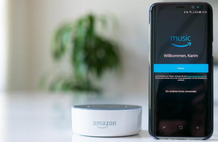 Amazon Prime Music mit Amazon Alexa hören