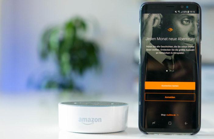 Audible Hörbücher mit Amazon Alexa abspielen