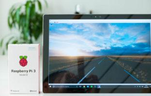 Raspberry Pi über einen Remote Desktop erreichen