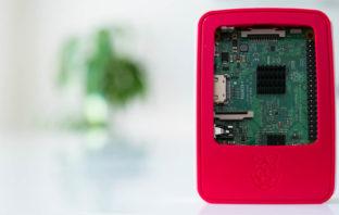 Raspberry Pi zusammenbauen und anschließen