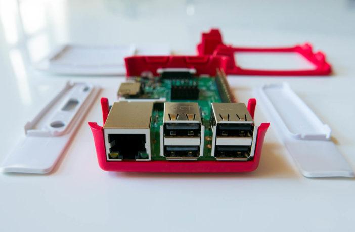 Raspberry Pi zusammenbauen perspektive