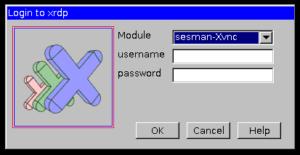 Remote Desktop Verbindung Raspberry Pi Loginfenster
