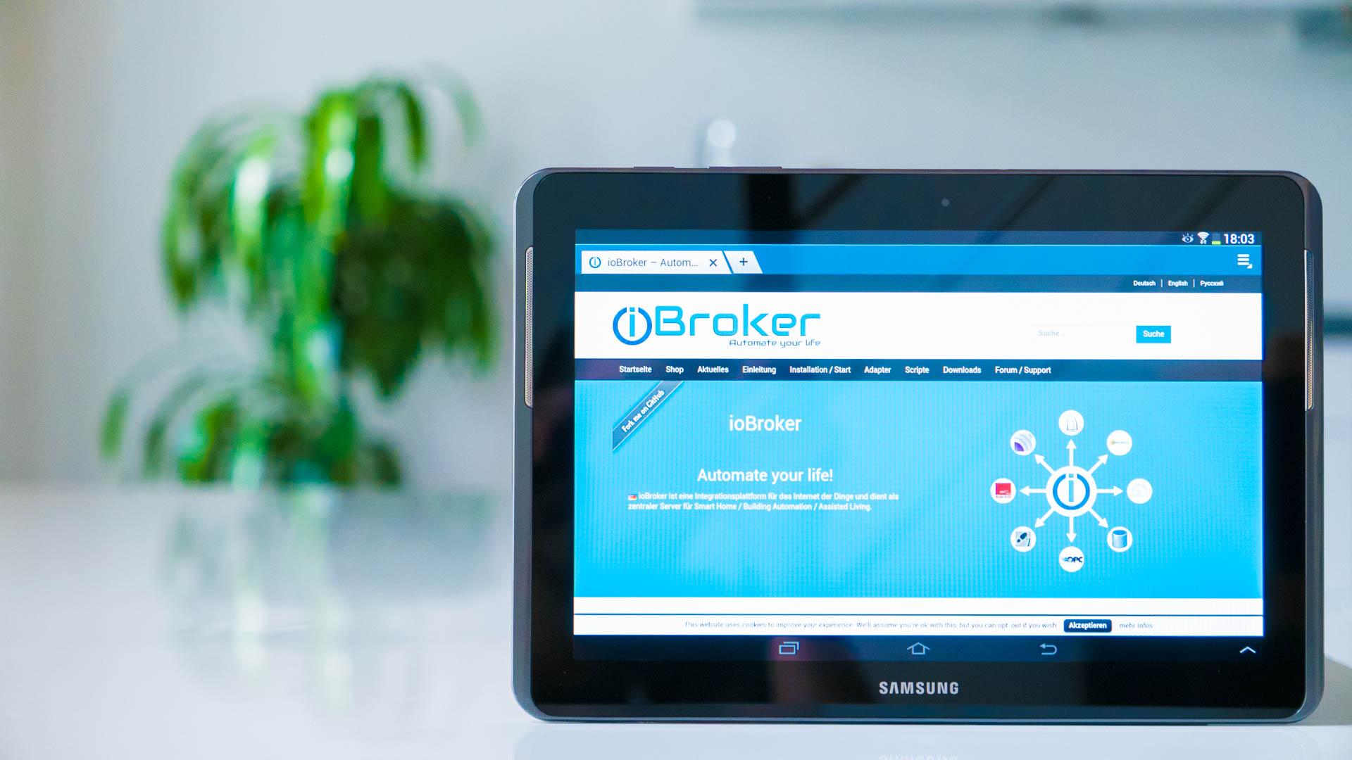 ioBroker Philips hue Integration – smarthome