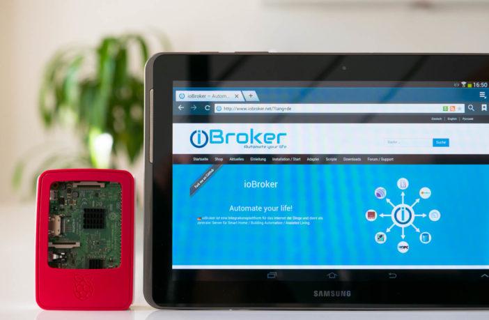 Für Anfänger – Raspberry Pi 4 mit vorinstalliertem ioBroker bei Amazon für 139,00€