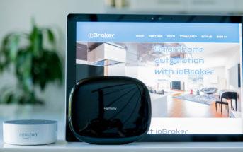 Logitech Harmony Hub mit Amazon Alexa und ioBroker steuern