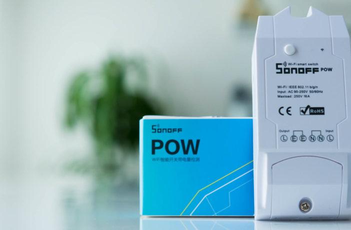 Itead Sonoff Pow WiFi Strom Mess Schalter