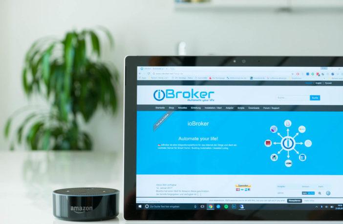 Szenen in ioBroker erstellen und mit Amazon Alexa steuern