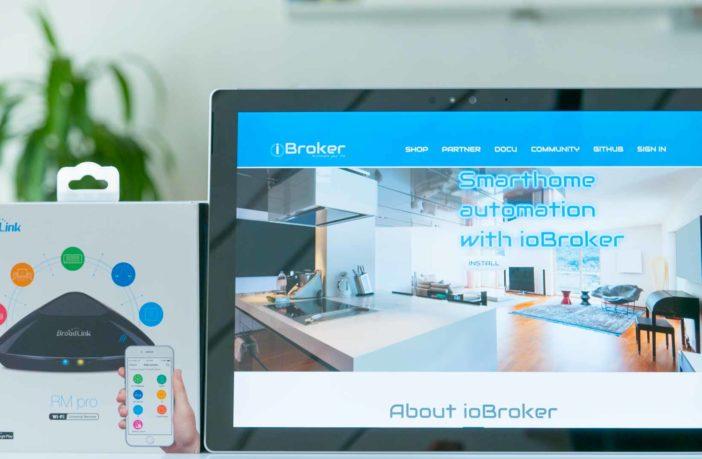 Broadlink mit ioBroker steuern