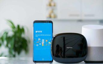 Logitech Harmony Hub mit Google Home und IFTTT steuern