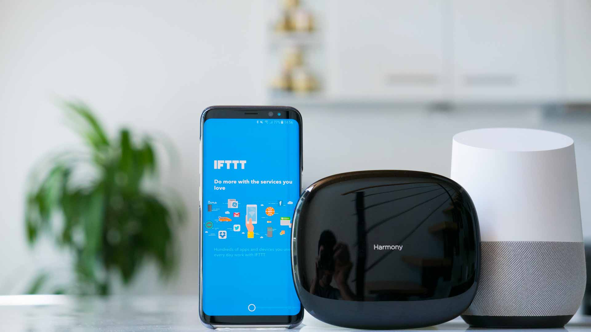 how to use ifttt google home