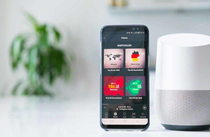 Musik und Multiroom mit dem Google Home