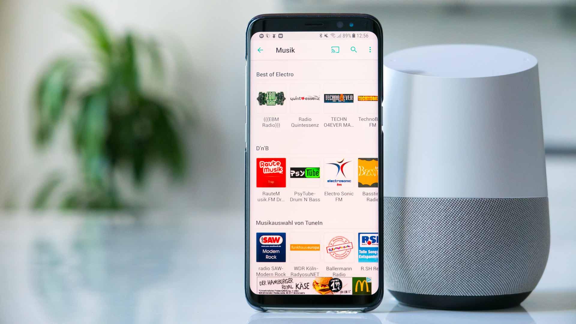 TuneIn mit dem Google Home hören - SmarthomeAssistent