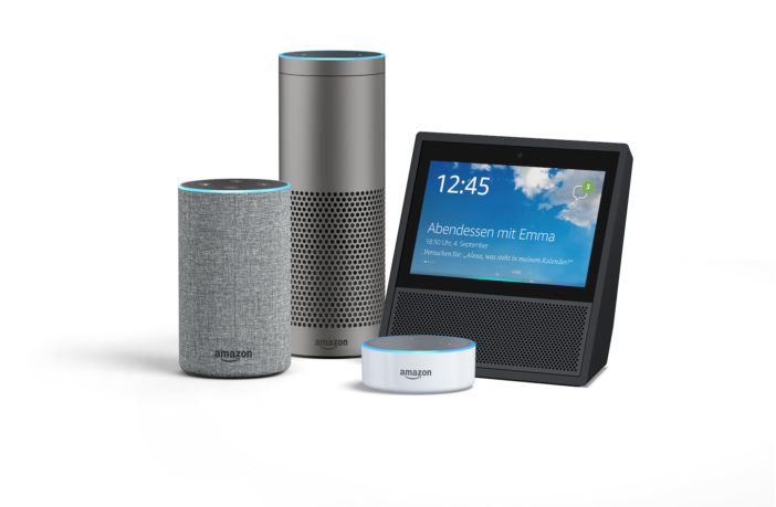 Neue Amazon Echo Geräte
