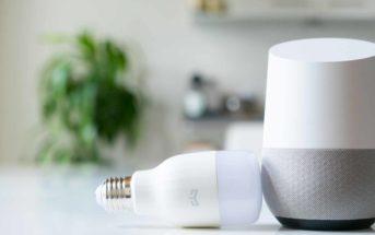 Xiaomi Yeelight mit dem Google Home steuern