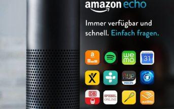Amazon Echo der 1. Generation für 79.99€
