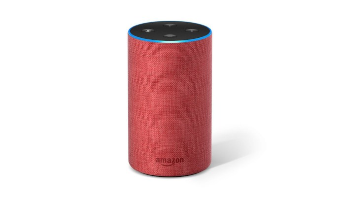 Amazon Echo in der RED Edition