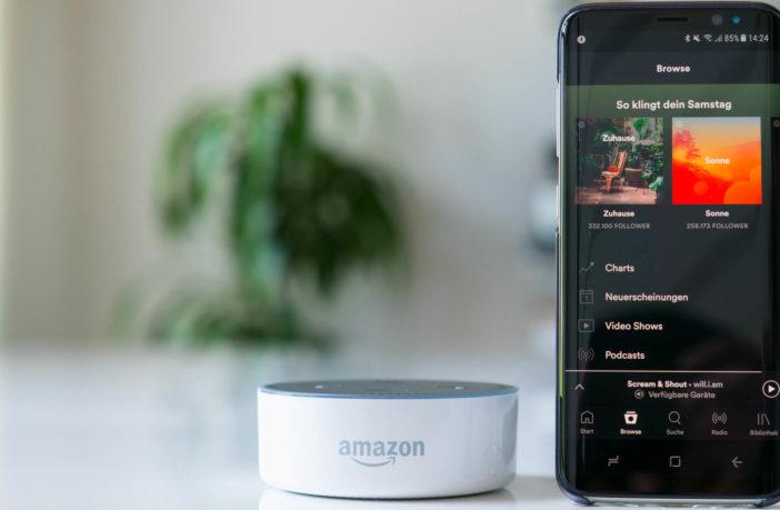 Spotify Multiroom mit Amazon Alexa