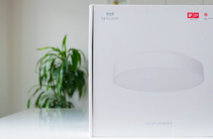 Die Xiaomi Yeelight LED Ceiling Light Deckenlampe im Test