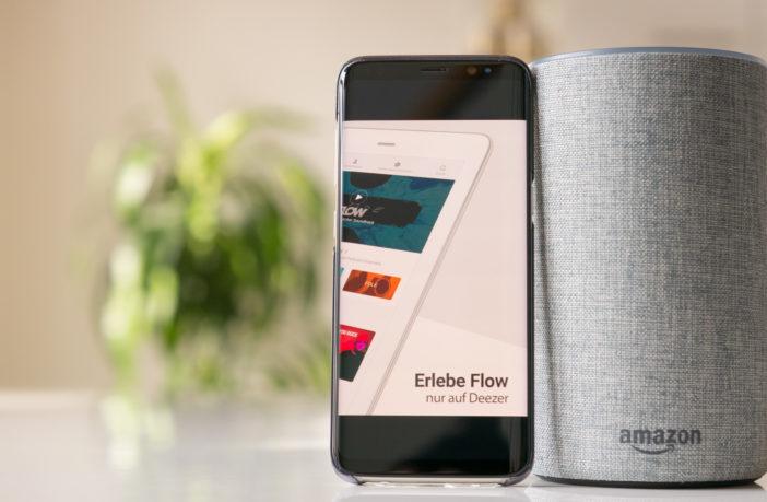 Deezer mit Amazon Alexa & den Echo's hören!