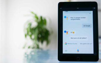 Google Assistant iPad App alt
