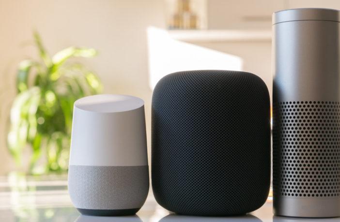 Alexa Siri Google HomePod Echo und Home