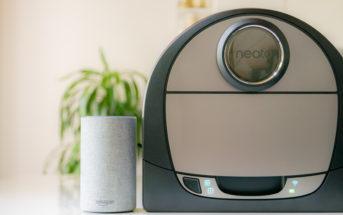 Neato Botvac Connected Staubsauger Roboter mit Amazon Alexa steuern!