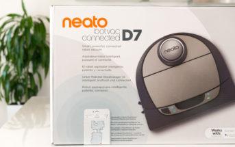 Neato Botvac D7 Titelbild Verpackung